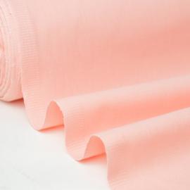 Tissu cretonne coton Peche