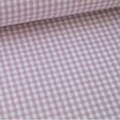 Tissu vichy petits carreaux 100%coton PARME  x50cm