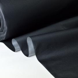 tissu occultant isolant thermique et phonique noir .x 1m