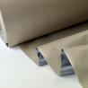 tissu occultant isolant thermique et phonique beige par 50cm
