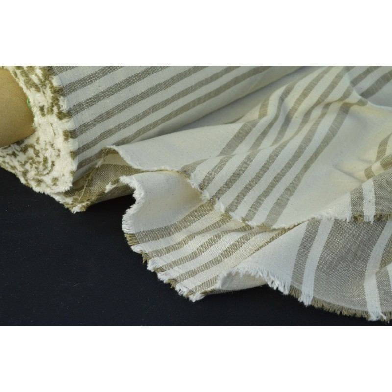 tissu rayure matelas grande largeur x 1m made in tissus. Black Bedroom Furniture Sets. Home Design Ideas