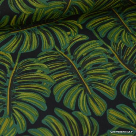 Tissu Viscose Rayon coton prenium imprimé Ménagerie by Cotton and Steel .x1m