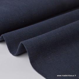 Lin Lavé Bleu marine x1m