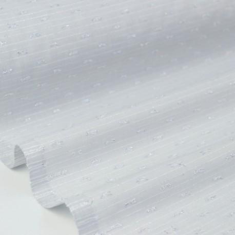 Tissu plumetis Lurex gris x50cm