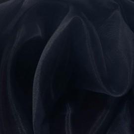 Tissu Organza Marine 100% polyester 150cm