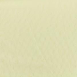 Tissu Tulle fluide MEDI Ivoire 100% polyamide 150cm 40gr/m²
