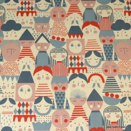 Tissu Toile de coton Canva imprimé Figures géométriques - Katia Fabrics