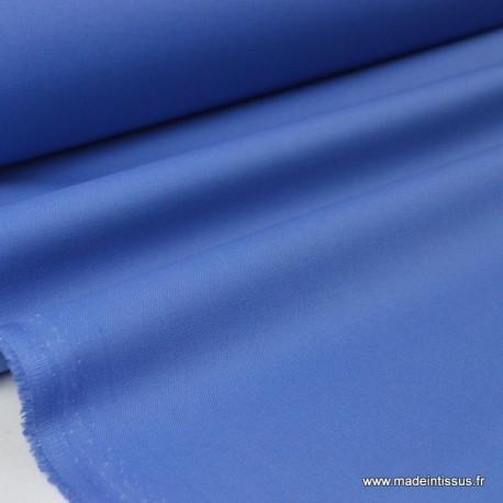 tissu gabardine Véritable bleu jean x50cm