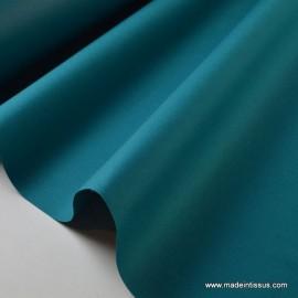 Tissu Gabardine enduite étanche émeraude