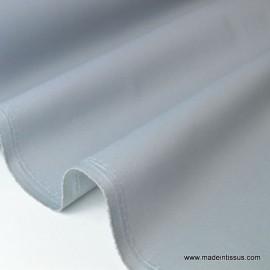 Tissu Gabardine enduite étanche grise