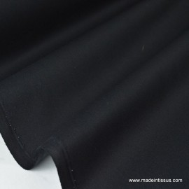 Tissu Gabardine enduite étanche noir