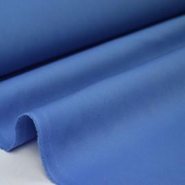 Tissu gabardine sergé coloris bleu jean