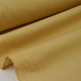 Tissu gabardine sergé coloris sable