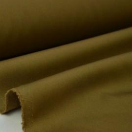 Tissu gabardine sergé coloris marron