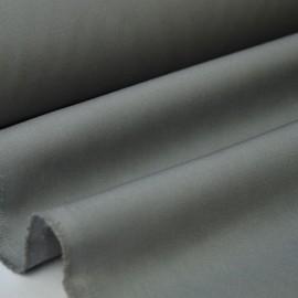 Tissu gabardine sergé coloris gris