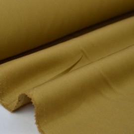 Tissu gabardine sergé coloris camel