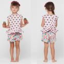 Patron Blouse et short fillette Katia Fabrics