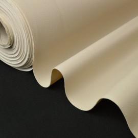 Tissu Faux cuirs ameublement rigide mastic .x1m