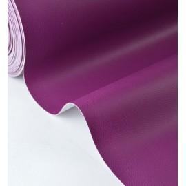 Tissu Simili cuir ameublement rigide violet