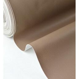 Faux cuirs ameublement rigide TAUPE par 50cm
