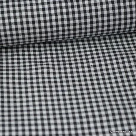 Passepoil coton noir à pois blanc de belle qualité Au mètre