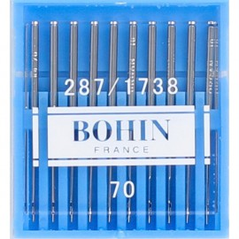 Aiguille machine universelle Bohin N°70 - lot de 10