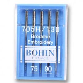 Aiguilles machines spéciales Broderie Bohin