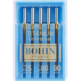 Aiguilles machines Titanium Bohin