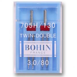 Aiguilles doubles pour machine spécial stretch Bohin