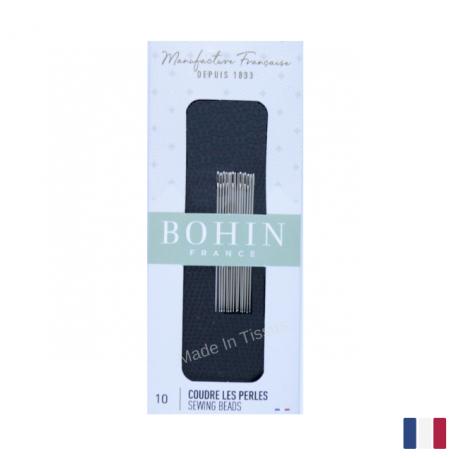 Aiguilles à coudre les perles n°10 Bohin