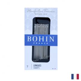 """Aiguilles à coudre couture main """"Longue"""" BOHIN N°7 par 20 pièces"""