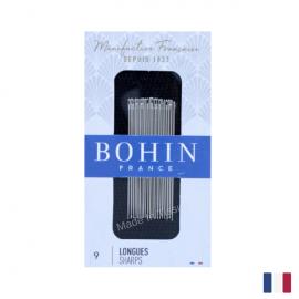 """Aiguilles à coudre couture main """"Longue"""" BOHIN N°9 par 20 pièces"""