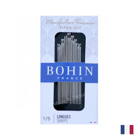 "Aiguilles à coudre assorties couture main ""Longue"" BOHIN N°1/5"