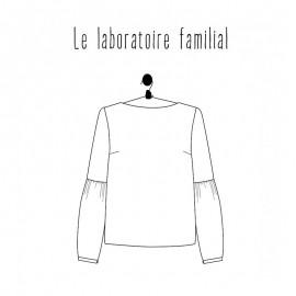 Patron Femme - Blouse Grace - Le laboratoire Familial