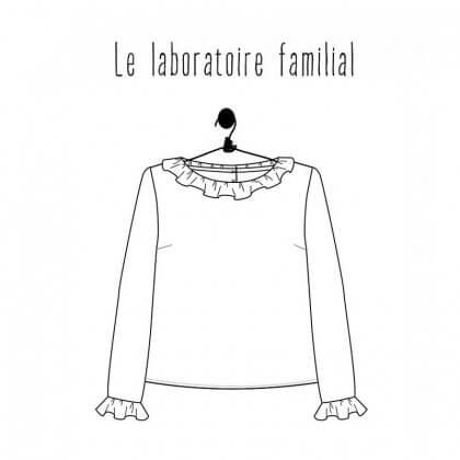 Patron Femme - Blouse Gisèle- Le laboratoire Familial