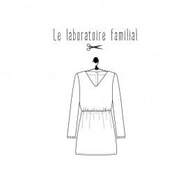 Patron Femme - Robe Bertille - Le laboratoire Familial