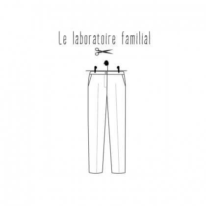 Patron Femme - Pantalon Albertine - Le laboratoire Familial