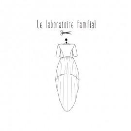 Patron Femme - Robe Elisabeth - Le laboratoire Familial