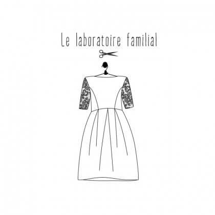 Patron Femme - Robe Edith- Le laboratoire Familial