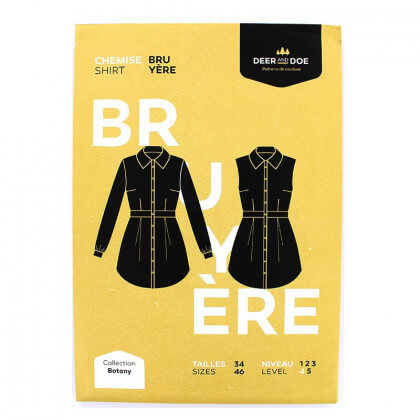 Patron Femme - Chemise Bruyere - Deer and Doe