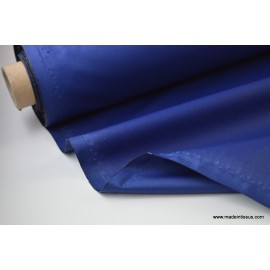 Tissu imperméable étanche polyester enduit acrylique marine