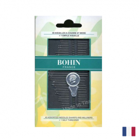 Carnet de 40 aiguilles Bohin