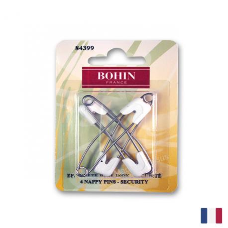 Epingles de sureté pour bébé Bohin x4