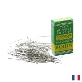 Epingles en Acier Couturex Extra Fines Bohin x200