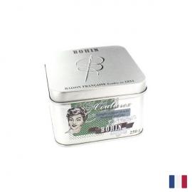Epingles Extra fines N°4 Bohin, 30 X 0.60 mm - Boite Vintage de 250 g