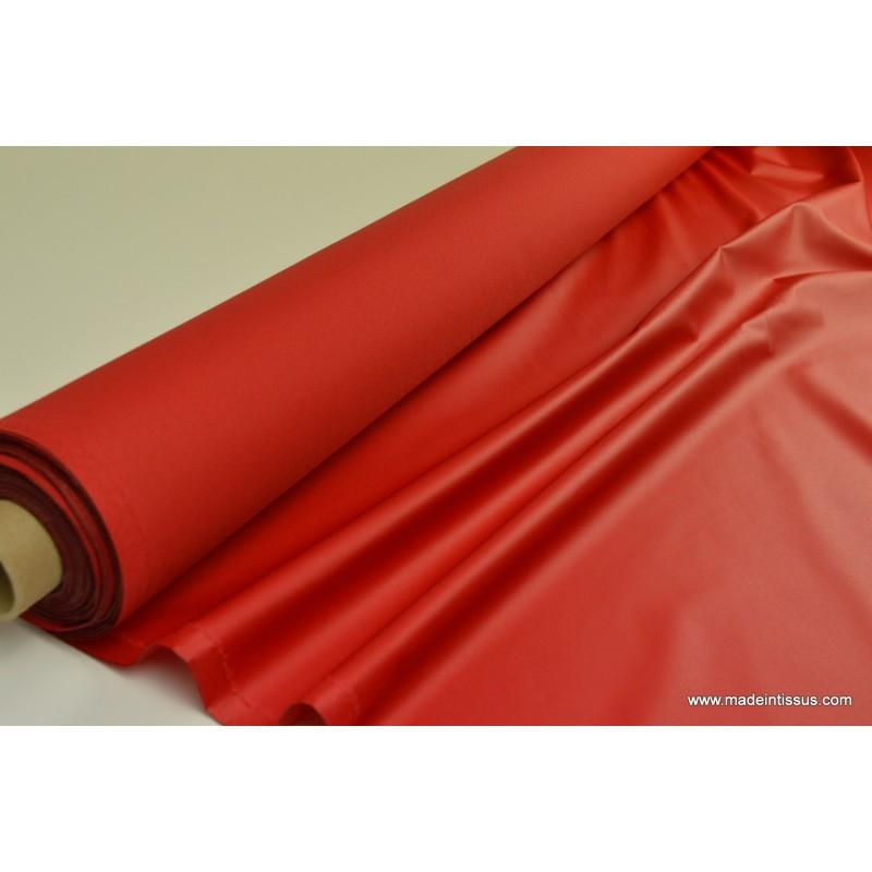 tissu imperm able tanche polyester enduit acrylique rouge. Black Bedroom Furniture Sets. Home Design Ideas