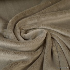 Tissu doudou ultra doux, lourd, lin