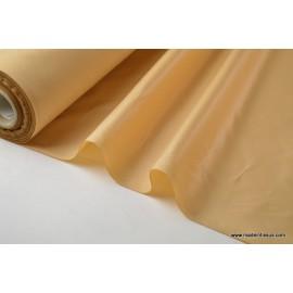 Tissu polyester nougat déperlant pour parapluie x50cm