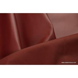 Tissu leger imperméable étanche polyester enduit acrylique bordeaux