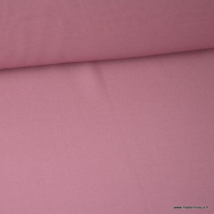 Tissu Mousseline fluide polyester Framboise